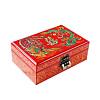 Vue de 3/4 de la boîte à bijoux originale 'Dragon et Phénix'