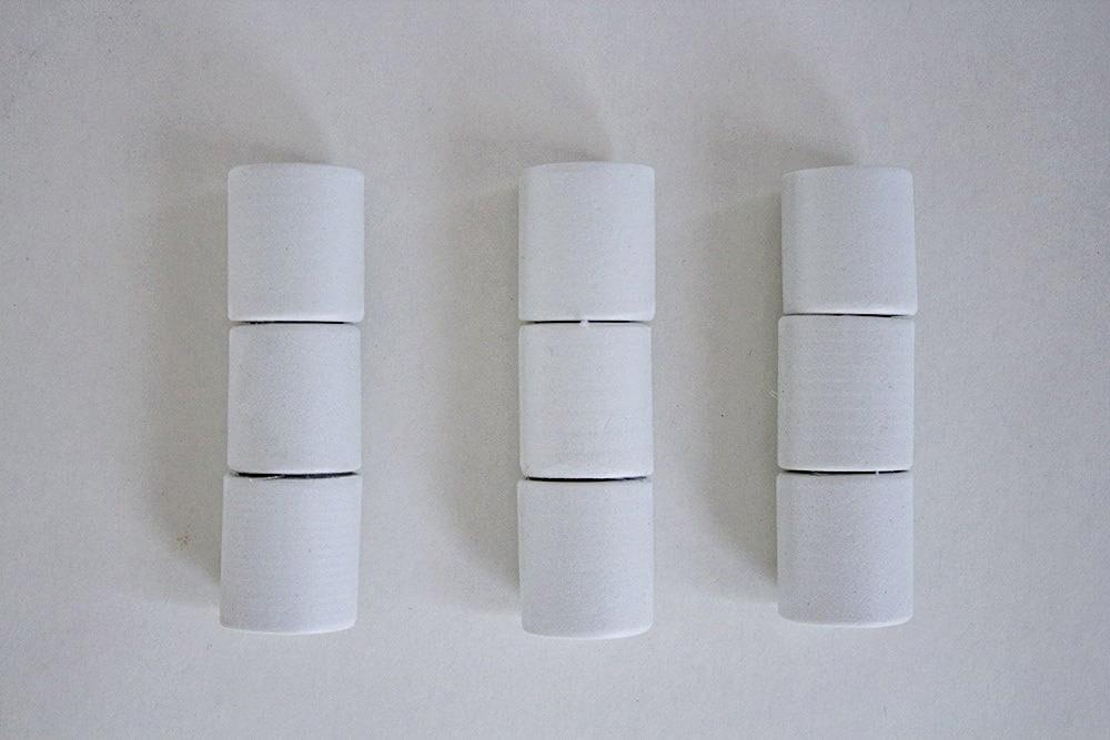 """cylindres en mousse de la boîte à bijoux """"cigares"""""""