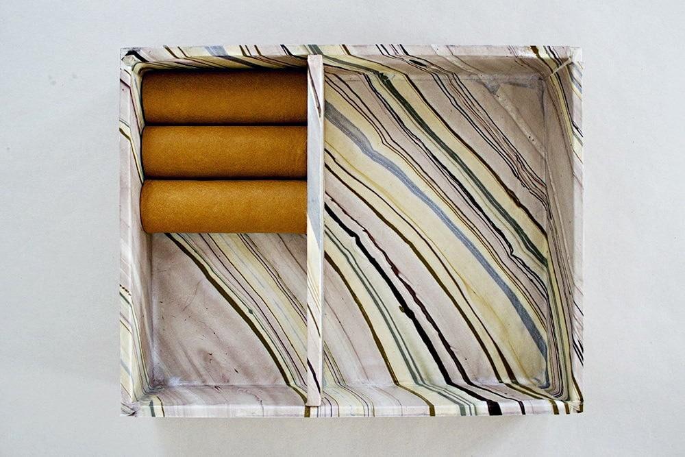 """Assemblage de la boîte à bijoux """"cigares"""""""