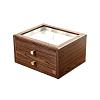 Boîte à bijoux bois présentoir (fermée)