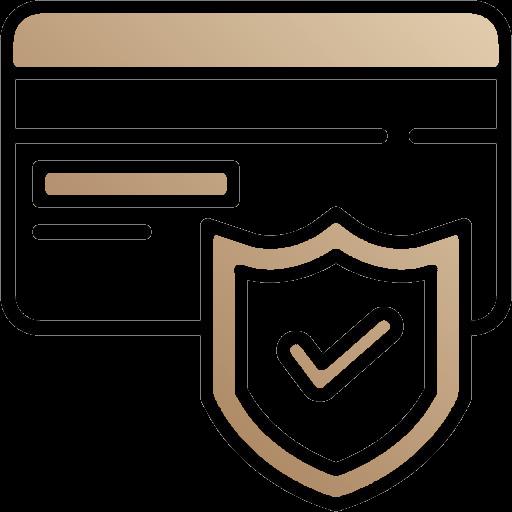 Carte de paiement sécurisée (logo de paiement)
