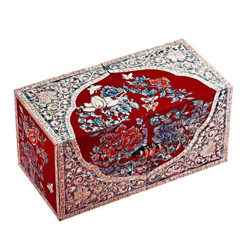 miniature de la boîte à bijoux originale 2 cubes rouges 1